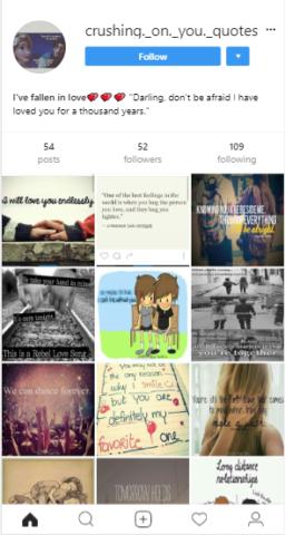 cute instagram bio and status