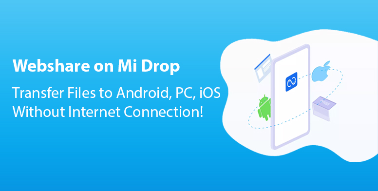 Mi drop file transfer