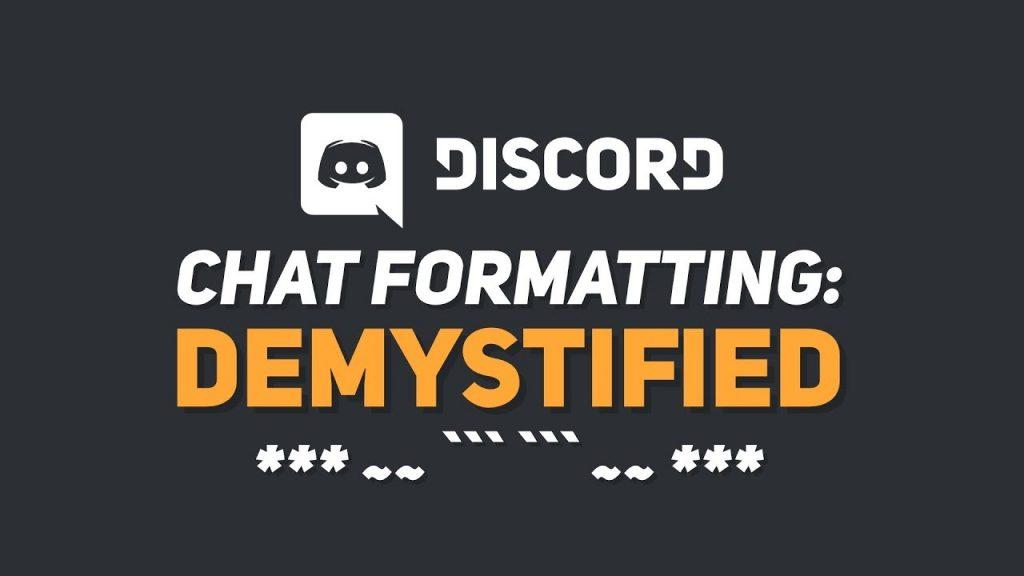 discord text formatting