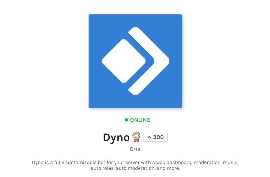 Dyno Discord Bot