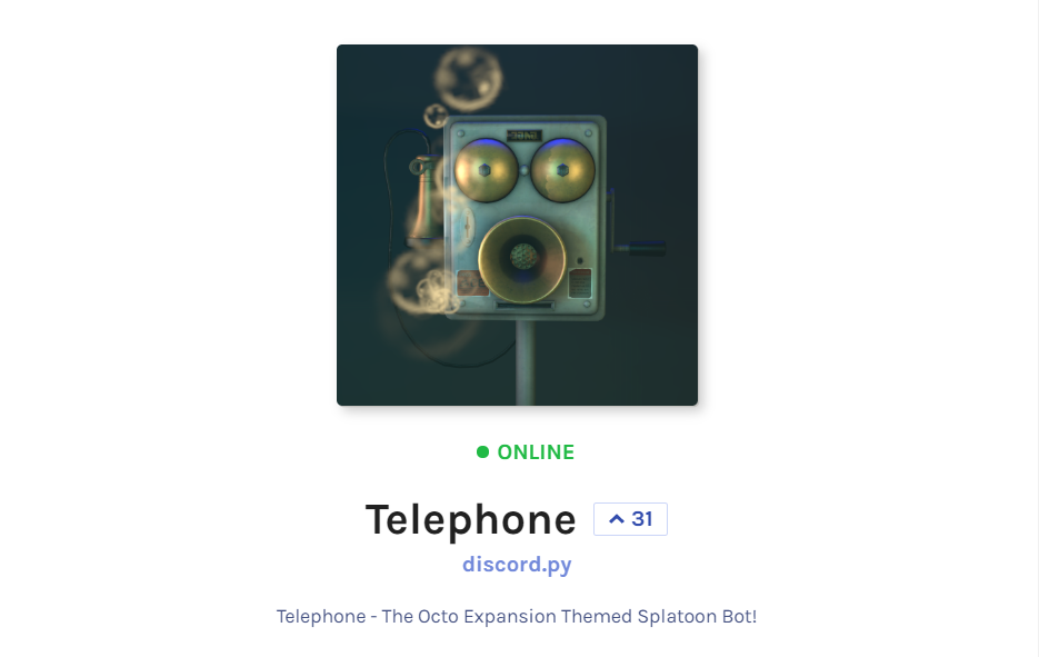 Discord Telephone Bot