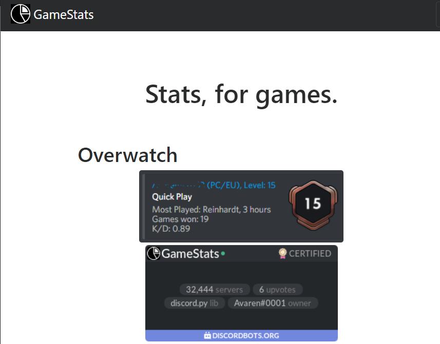 GameStats