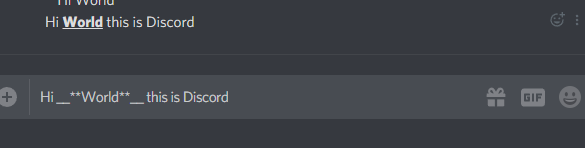 How to Combine Font Formatting in Discord