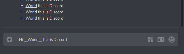 How to Underline Text in Discord
