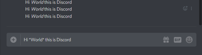 How to Italicize Text for Slanted Italics in Discord