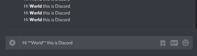 How to get Bold Text in Discord