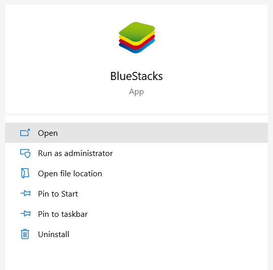 open the Google Play Store in Bluestacks on your computer and search for Jio TV.