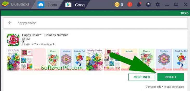 How to Install Happy Colour app for PC