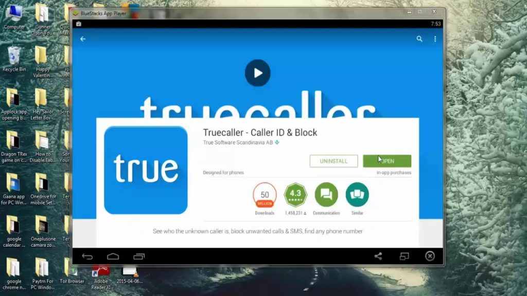 How to Install Truecaller for PC